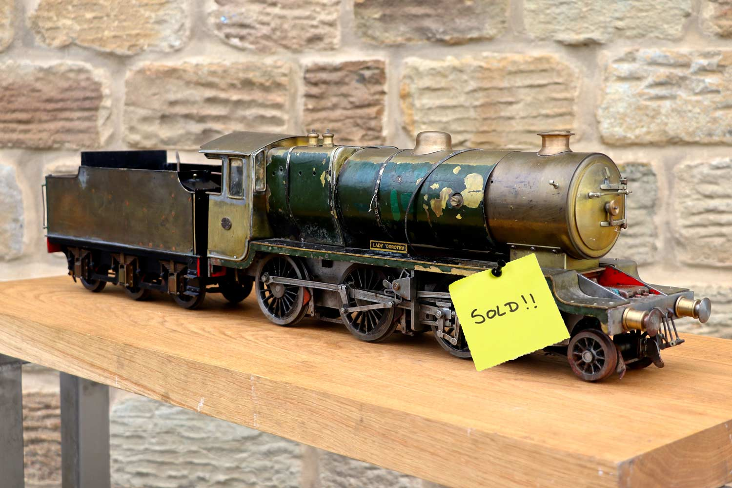 test SOLD-2-and-a-half-inch-gauge-LBSC-Lady-Dorothy-DYAK-live-steam-locomotive-for-sale-10