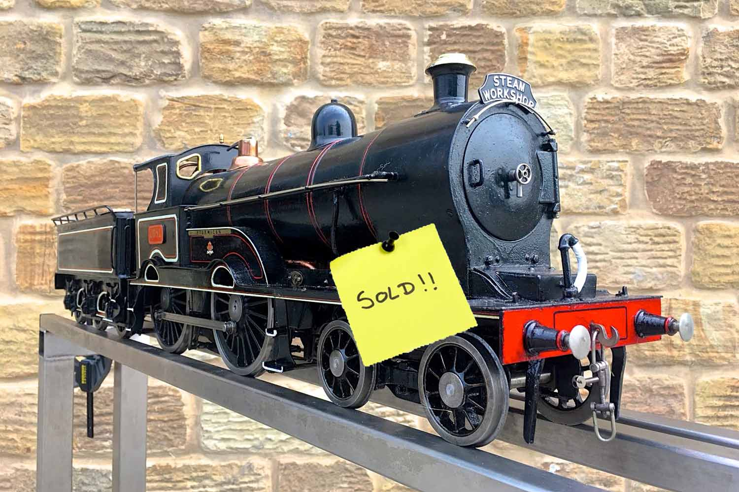 test SOLD-3-and-a-half-inch-LNWR-King-George-the-Fifth-live-steam-locomotive-for-sale-07