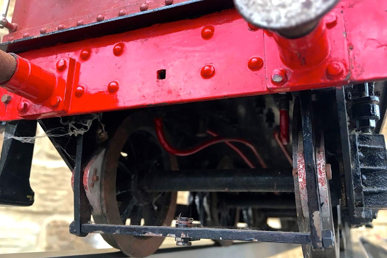 test 3-and-a-half-inch-gauge-GWR-County-Hawksworth-live-steam-locomotive-for-sale-13