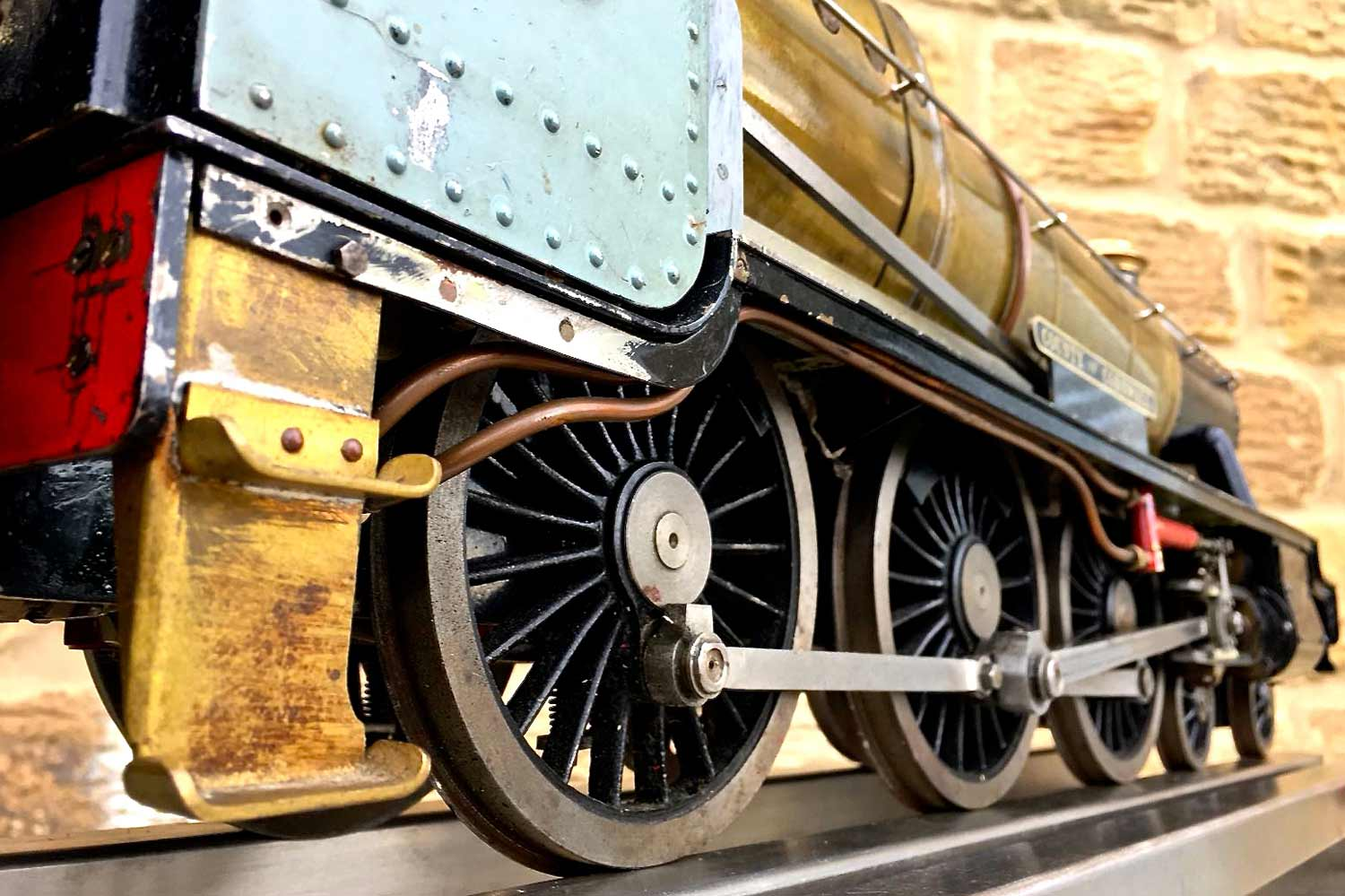 test 3-and-a-half-inch-gauge-GWR-County-Hawksworth-live-steam-locomotive-for-sale-14