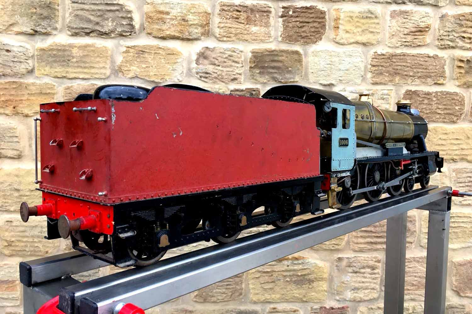 test 3-and-a-half-inch-gauge-GWR-County-Hawksworth-live-steam-locomotive-for-sale-15