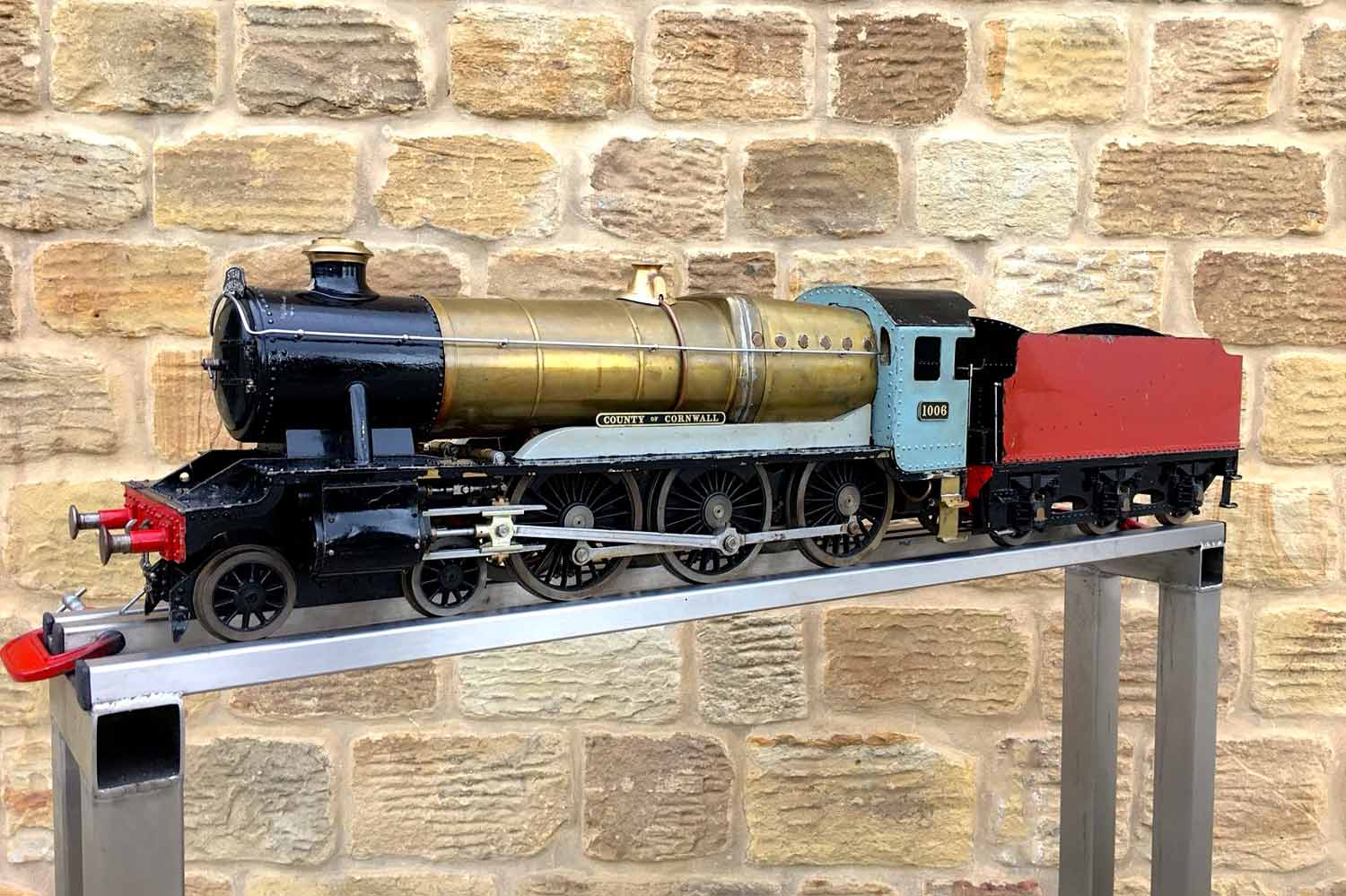 test 3-and-a-half-inch-gauge-GWR-County-Hawksworth-live-steam-locomotive-for-sale-21