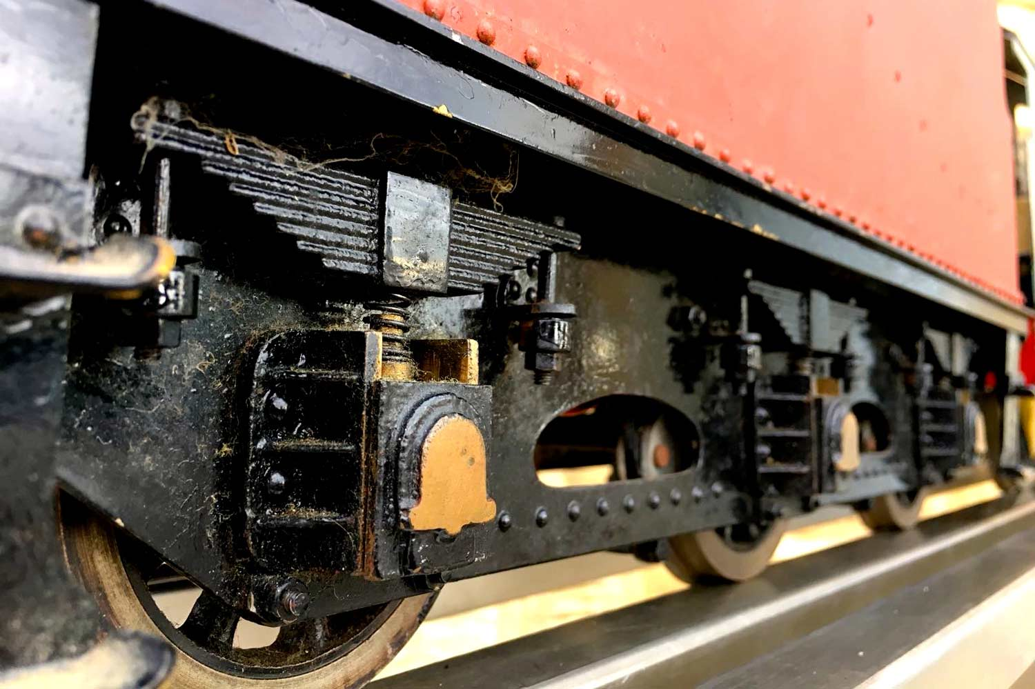 test 3-and-a-half-inch-gauge-GWR-County-Hawksworth-live-steam-locomotive-for-sale-3
