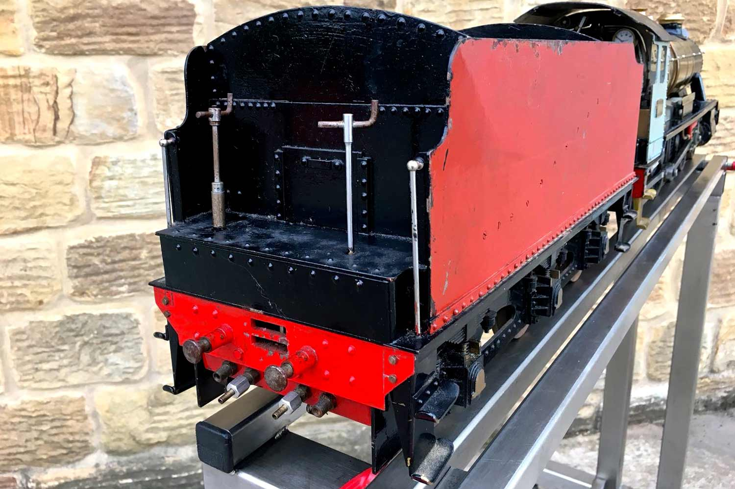 test 3-and-a-half-inch-gauge-GWR-County-Hawksworth-live-steam-locomotive-for-sale-5