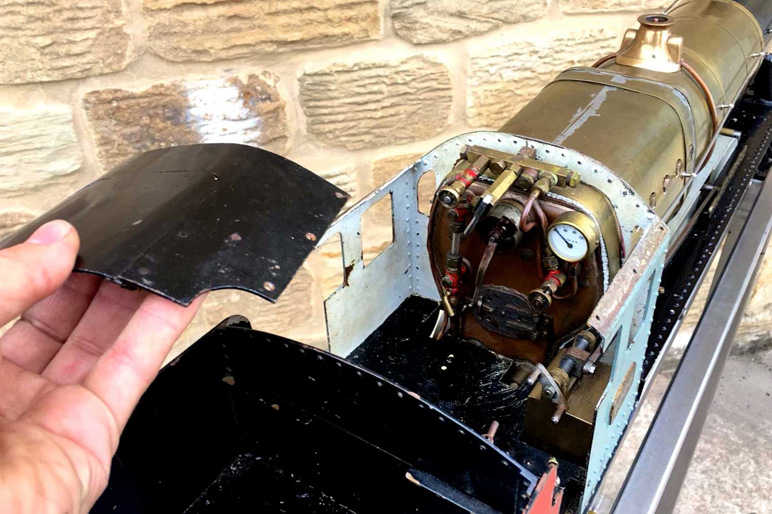 test 3-and-a-half-inch-gauge-GWR-County-Hawksworth-live-steam-locomotive-for-sale-6