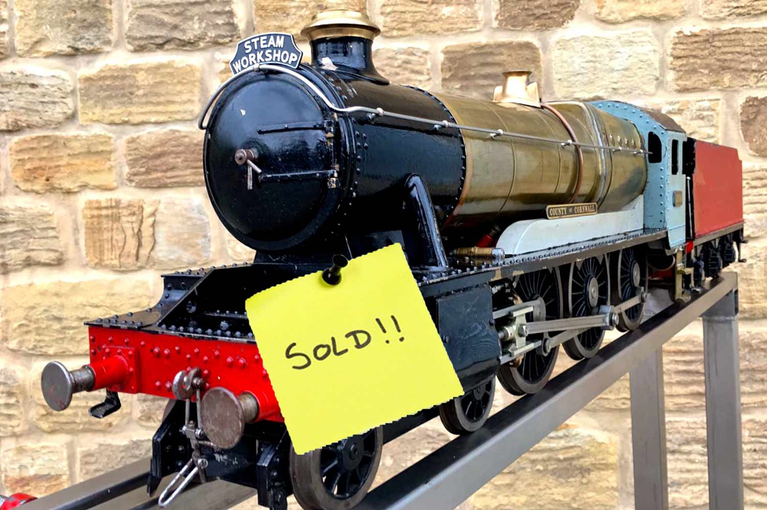 test SOLD-3-and-a-half-inch-gauge-GWR-County-Hawksworth-live-steam-locomotive-for-sale-1