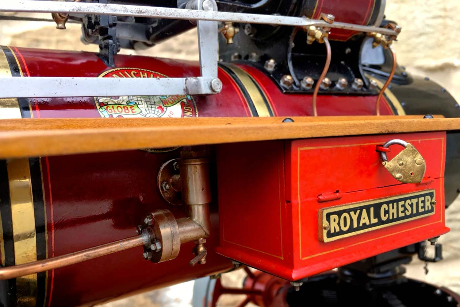 test 1-and-a-half-inch-scale-Royal-Chester-Alchin-traction-engine-live-steam-model-for-sale-19