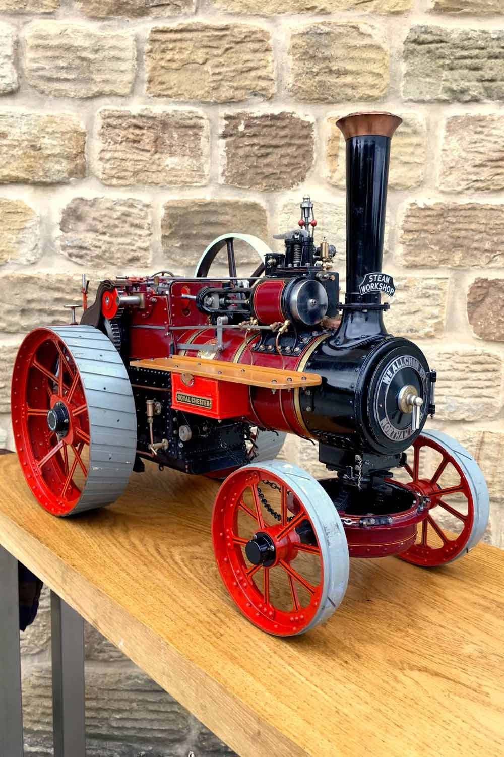 test 1-and-a-half-inch-scale-Royal-Chester-Alchin-traction-engine-live-steam-model-for-sale-26