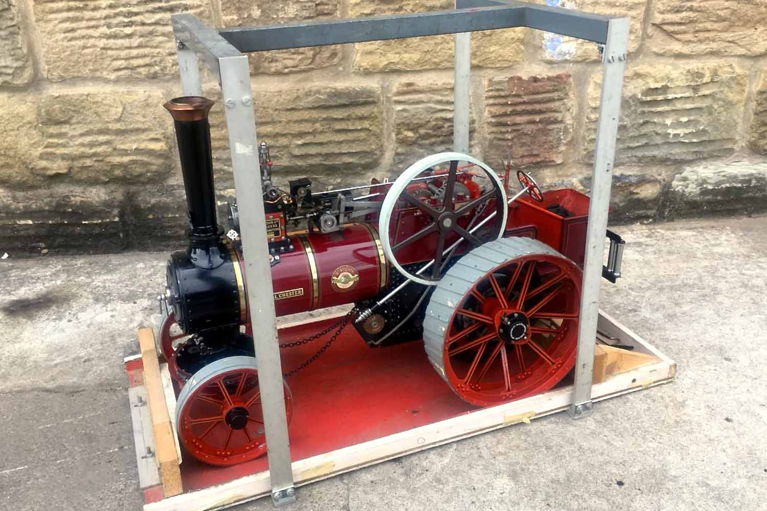 test 1-and-a-half-inch-scale-Royal-Chester-Alchin-traction-engine-live-steam-model-for-sale-28