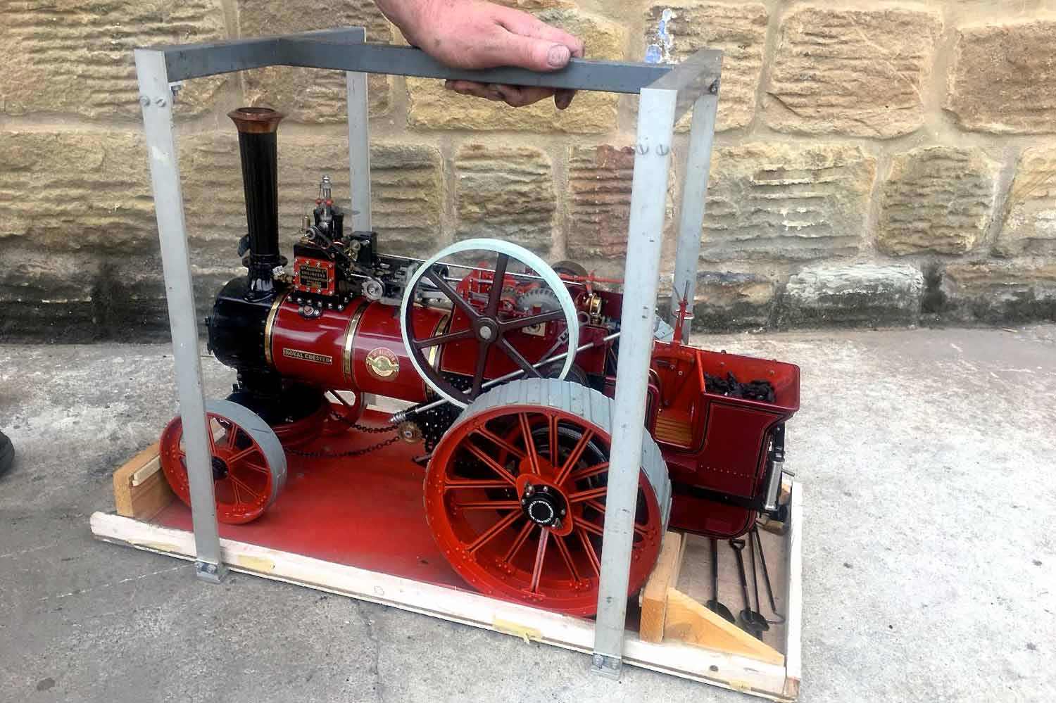 test 1-and-a-half-inch-scale-Royal-Chester-Alchin-traction-engine-live-steam-model-for-sale-29