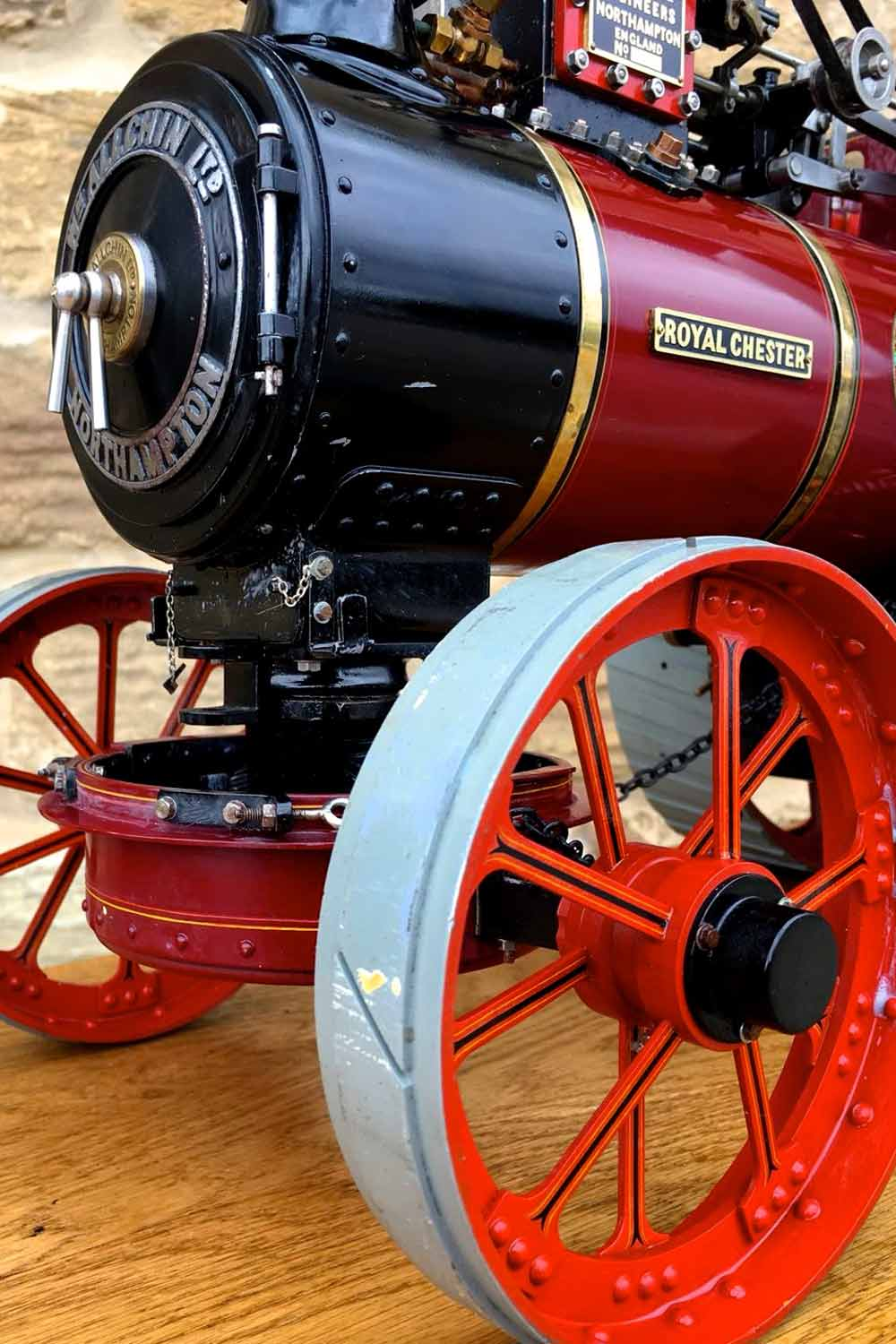 test 1-and-a-half-inch-scale-Royal-Chester-Alchin-traction-engine-live-steam-model-for-sale-3