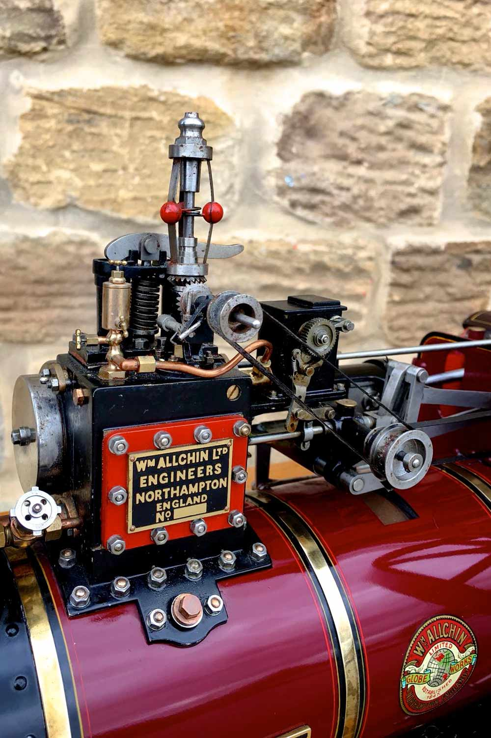 test 1-and-a-half-inch-scale-Royal-Chester-Alchin-traction-engine-live-steam-model-for-sale-6