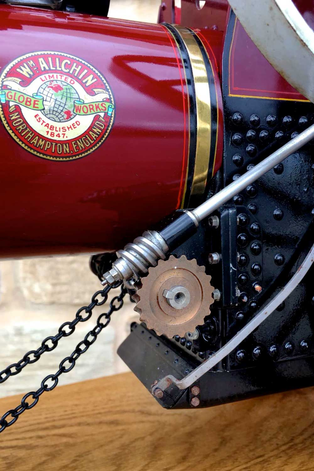 test 1-and-a-half-inch-scale-Royal-Chester-Alchin-traction-engine-live-steam-model-for-sale-7