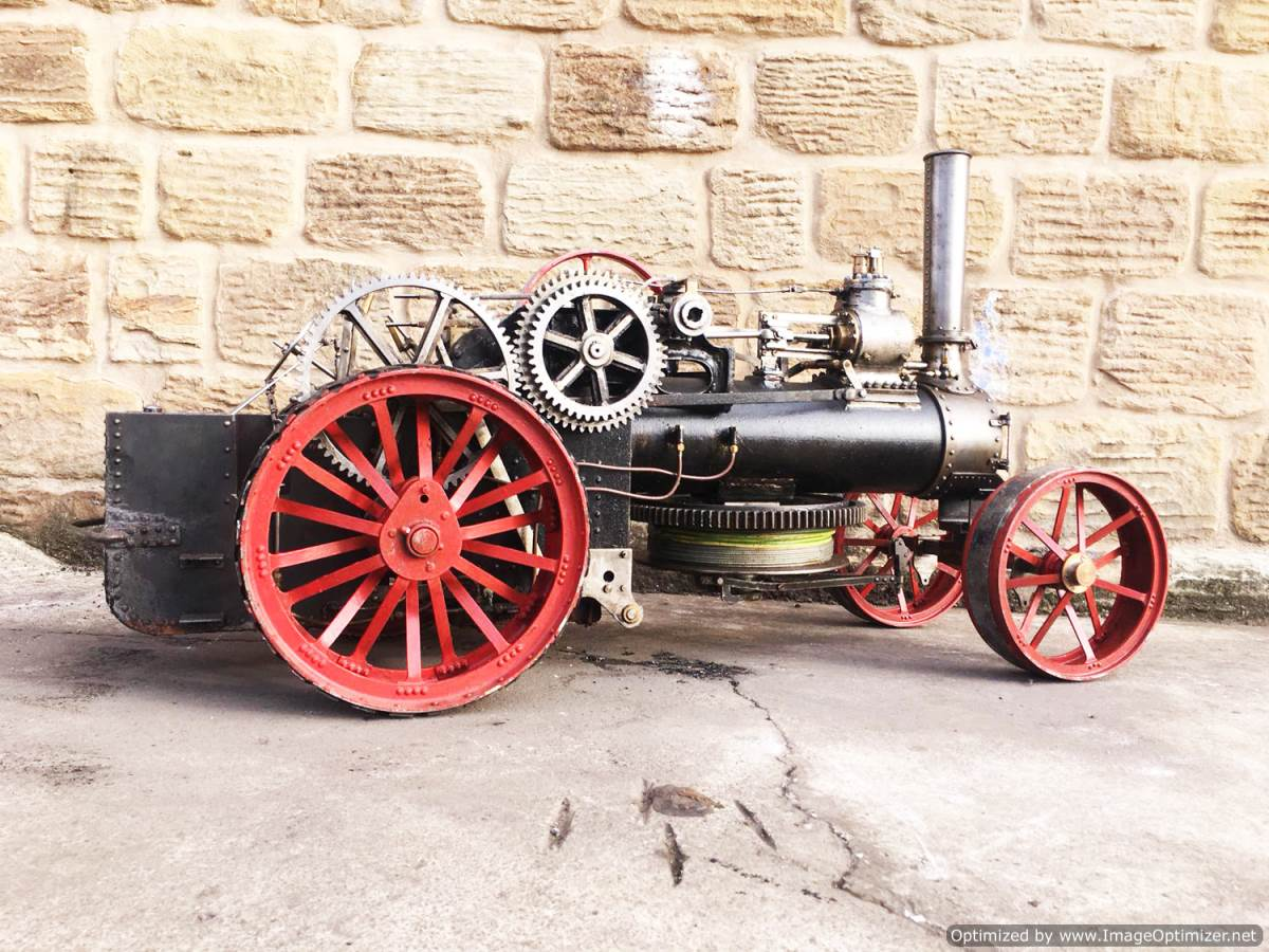 test 2 inch Fowler Ploughing Engine 12