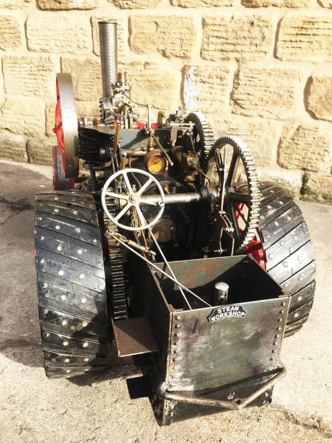 test 2 inch Fowler Ploughing Engine 16