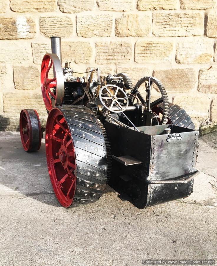 test 2 inch Fowler Ploughing Engine 23
