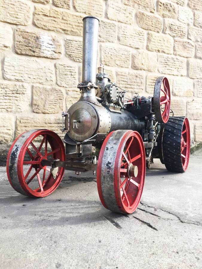 test 2 inch Fowler Ploughing Engine 9