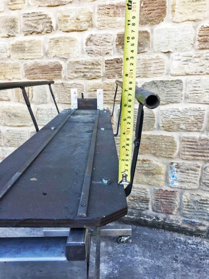 test 5 inch loco cradle 2
