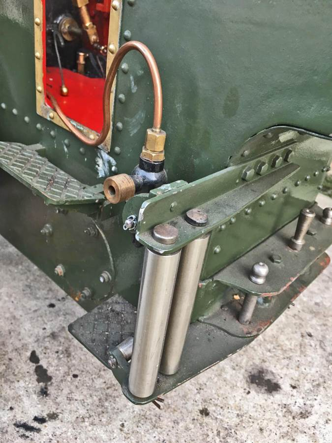 test 3 inch Foster Live Steam Traction Engine For Sale (18)