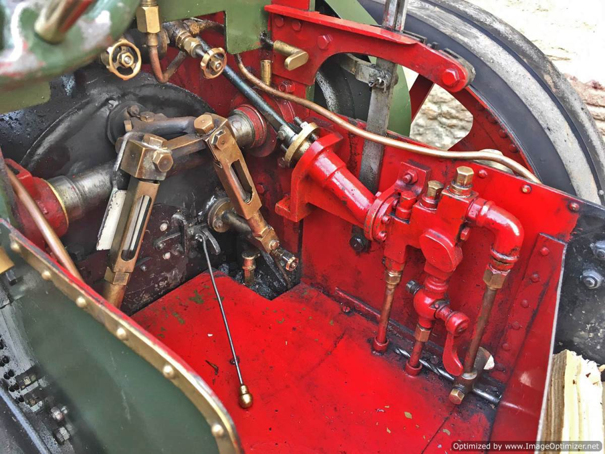 test 3 inch Foster Live Steam Traction Engine For Sale (19)