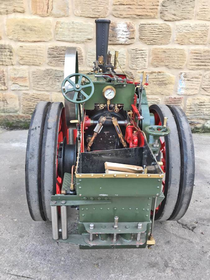 test 3 inch Foster Live Steam Traction Engine For Sale (20)