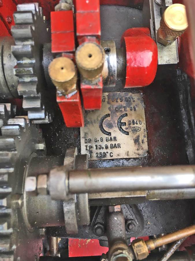 test 3 inch Foster Live Steam Traction Engine For Sale (22)