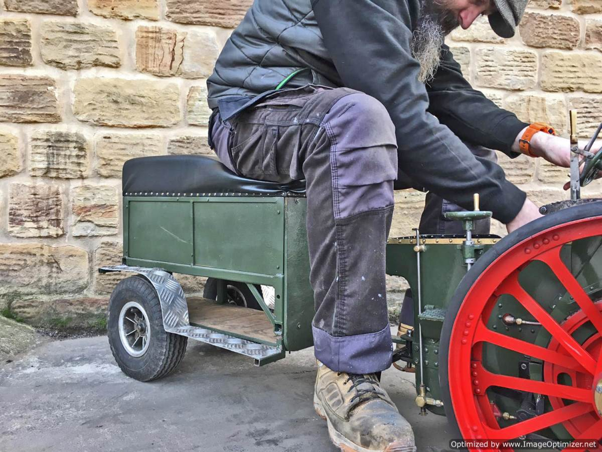 test 3 inch Foster Live Steam Traction Engine For Sale (26)