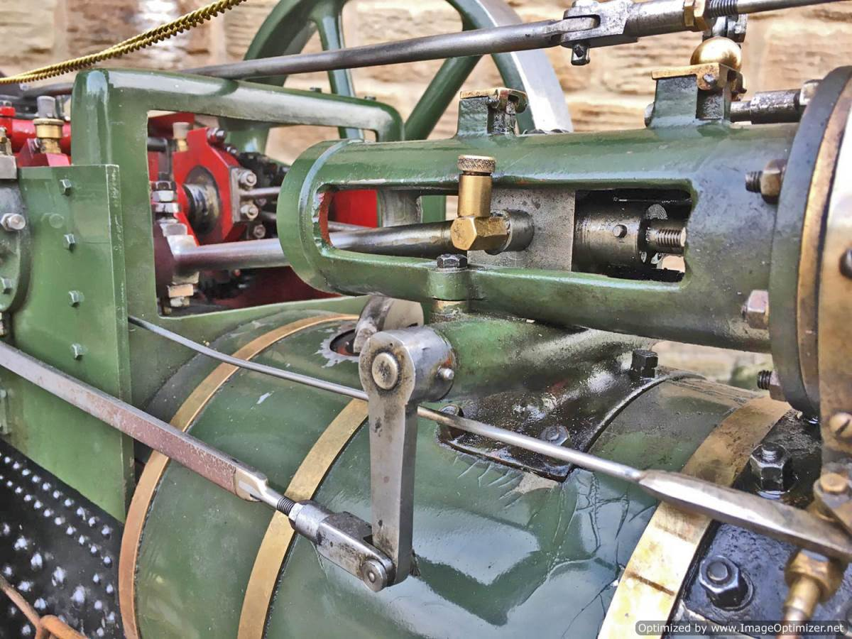 test 3 inch Foster Live Steam Traction Engine For Sale (27)