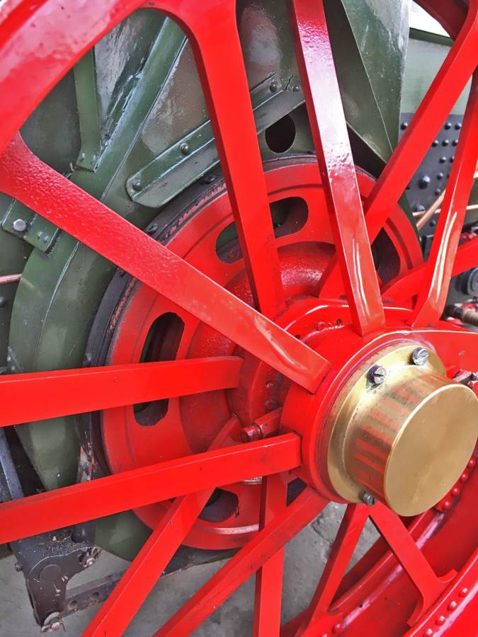 test 3 inch Foster Live Steam Traction Engine For Sale (4)