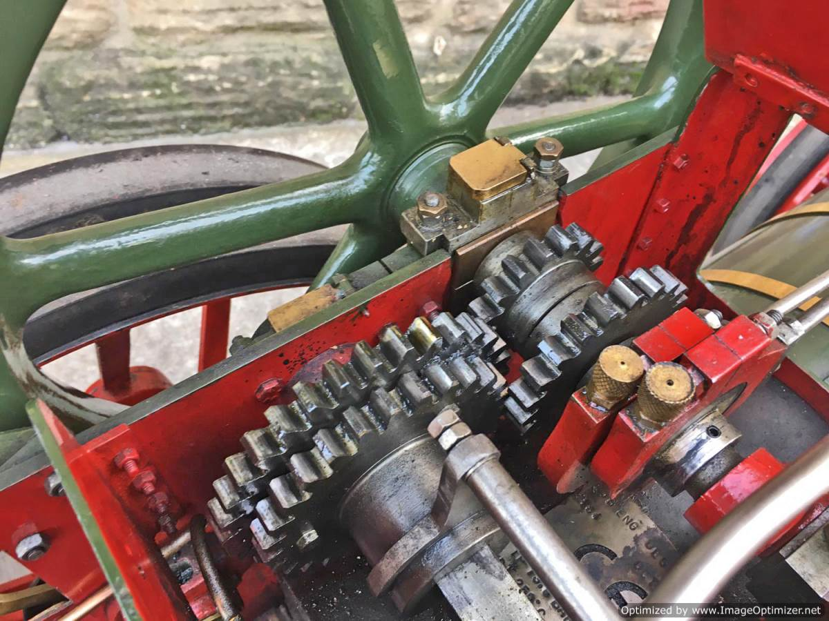 test 3 inch Foster Live Steam Traction Engine For Sale (6)