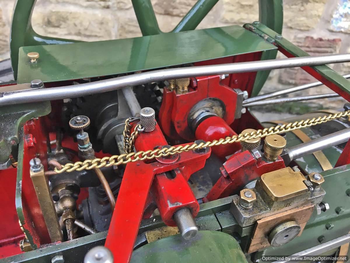 test 3 inch Foster Live Steam Traction Engine For Sale (7)