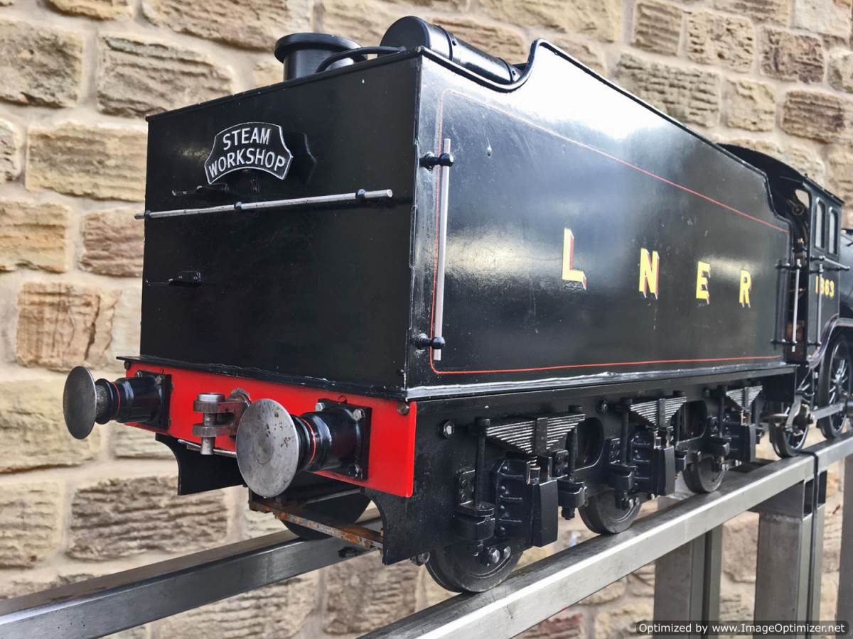 "test 5"" LNER K5 live steam loco for sale (18)"