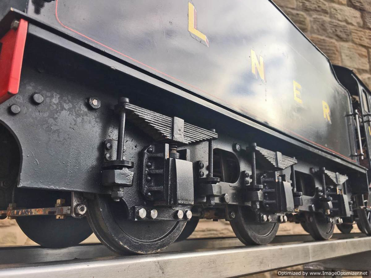 "test 5"" LNER K5 live steam loco for sale (19)"