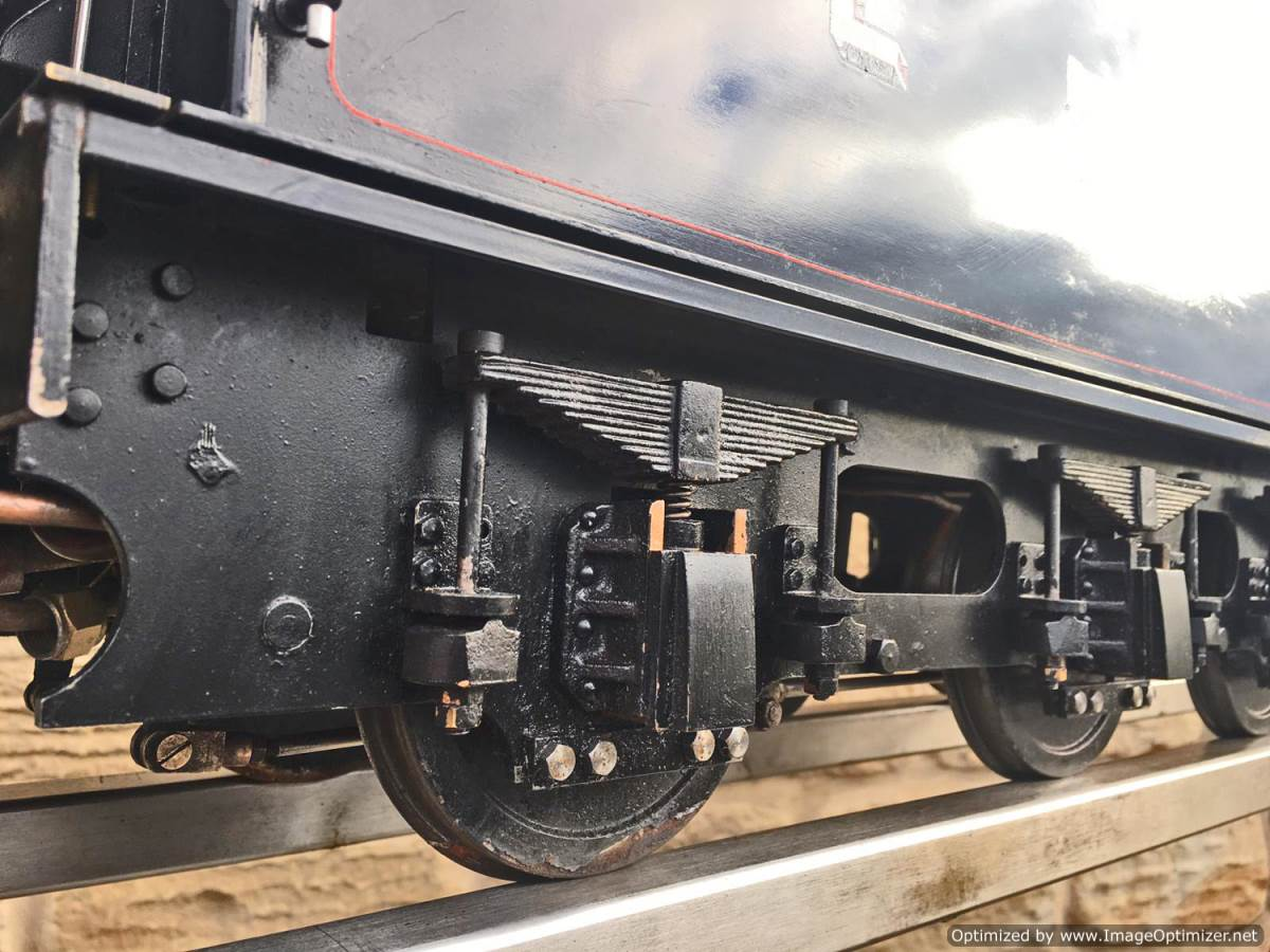 "test 5"" LNER K5 live steam loco for sale (5)"