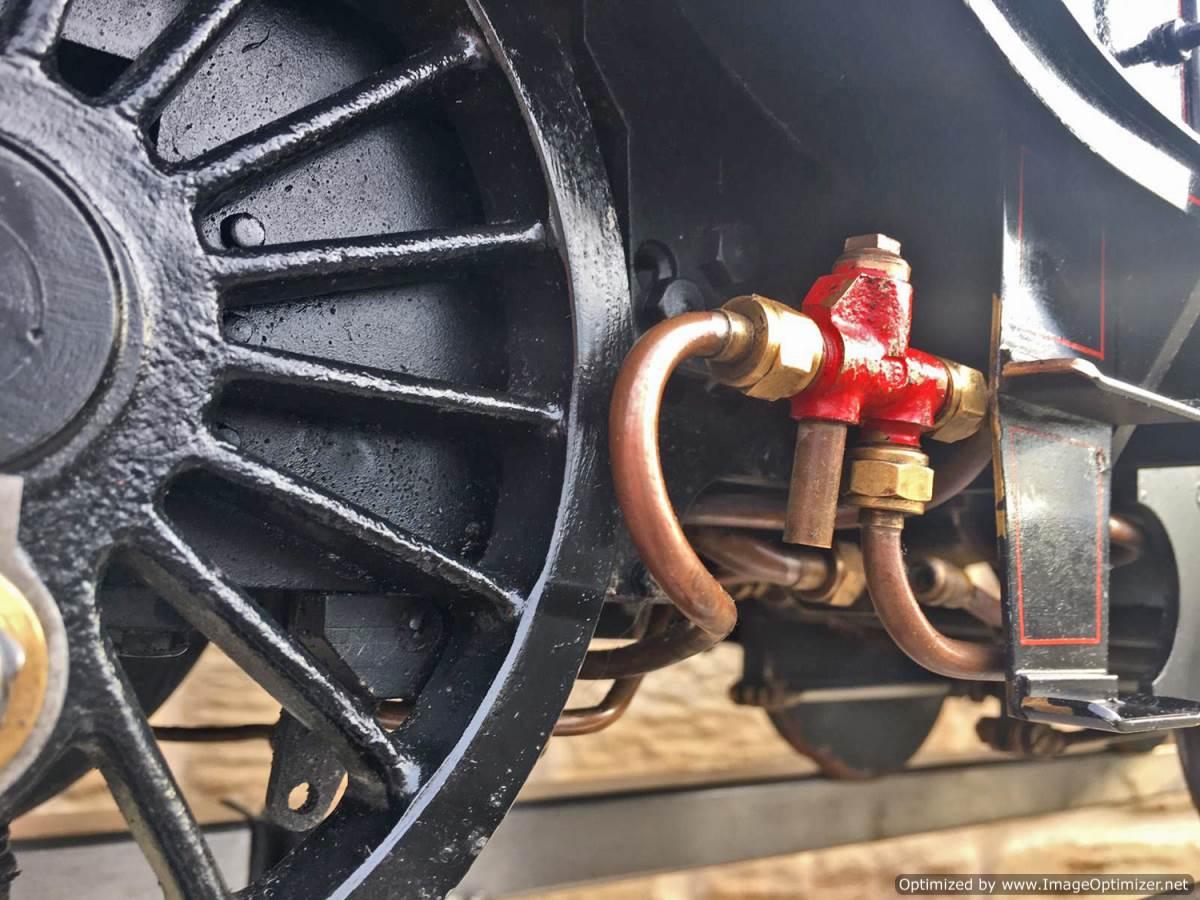 """test 5"""" LNER K5 live steam loco for sale (7)"""