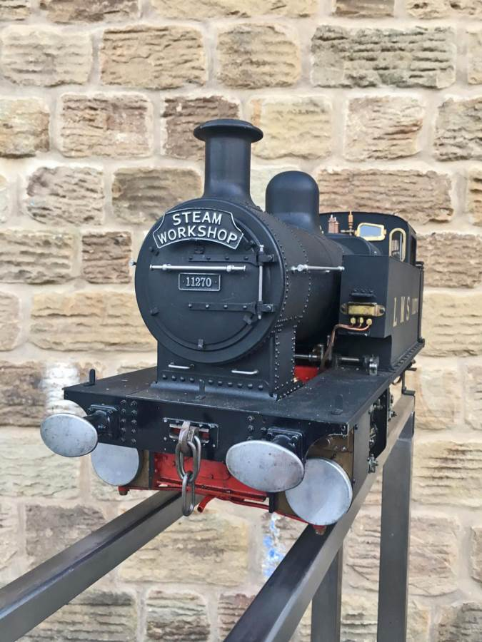test 5 inch gauge LMS 2F Twin Sisters live steam for sale (10)
