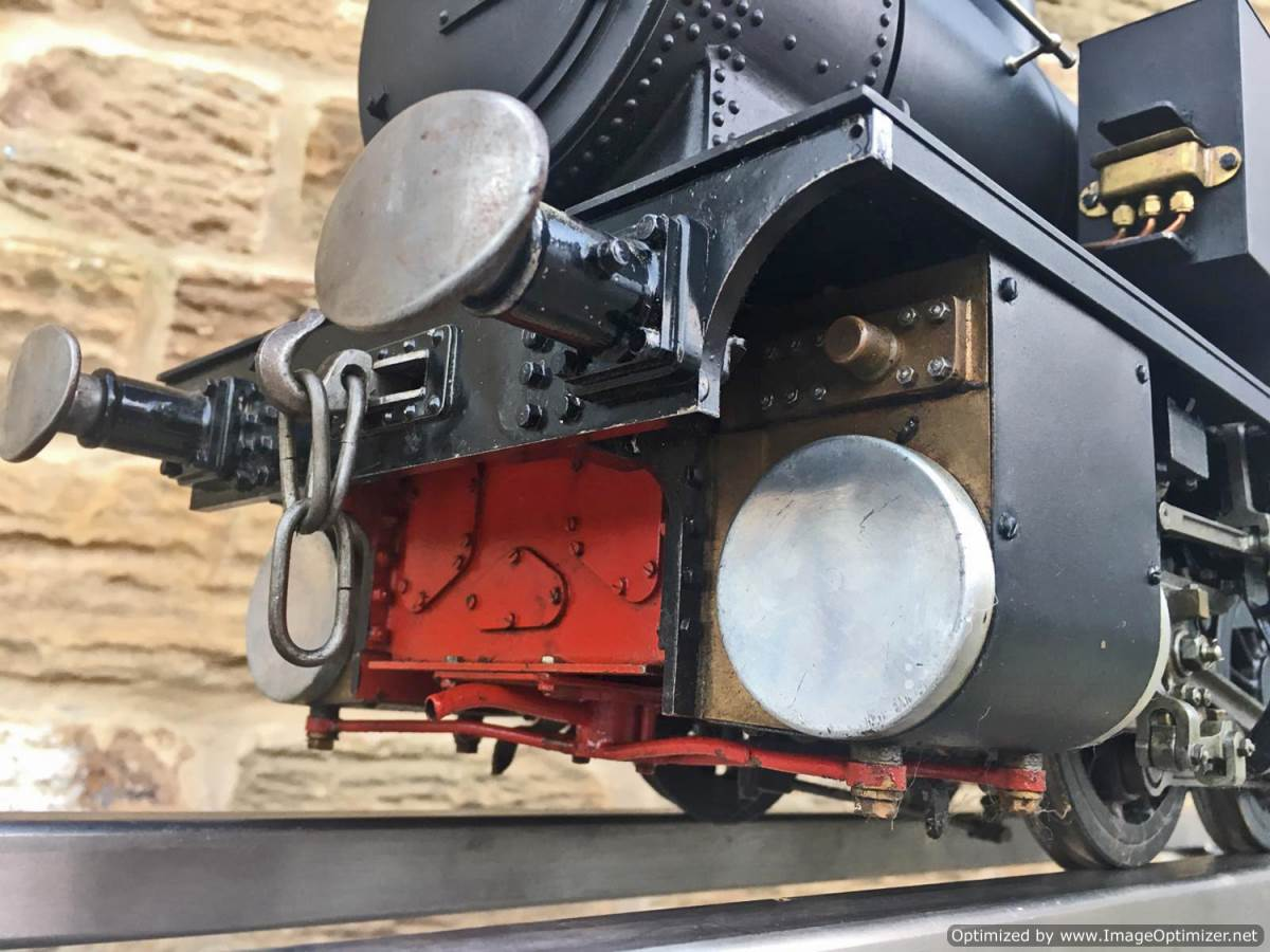 test 5 inch gauge LMS 2F Twin Sisters live steam for sale (2)
