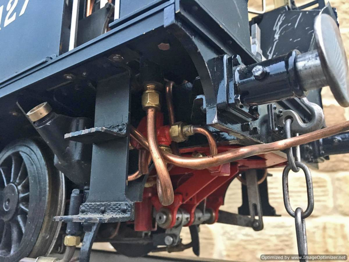 test 5 inch gauge LMS 2F Twin Sisters live steam for sale (25)