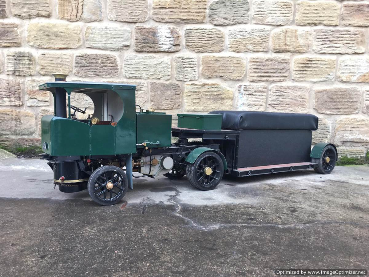 test 2 Inch Clayton Steam Lorry (1)