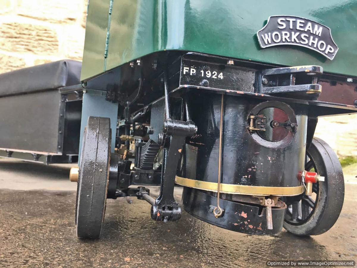 test 2 Inch Clayton Steam Lorry (15)