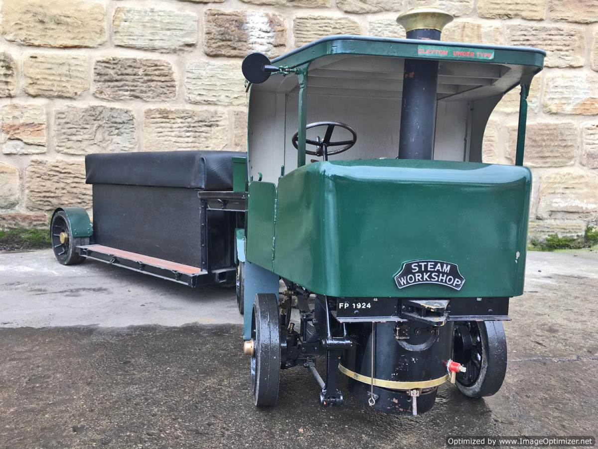 test 2 Inch Clayton Steam Lorry (16)