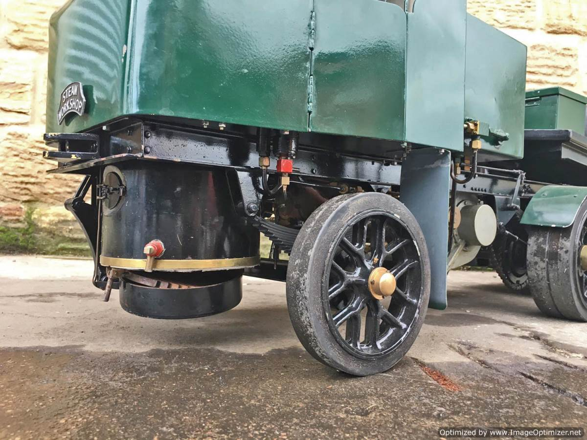 test 2 Inch Clayton Steam Lorry (2)