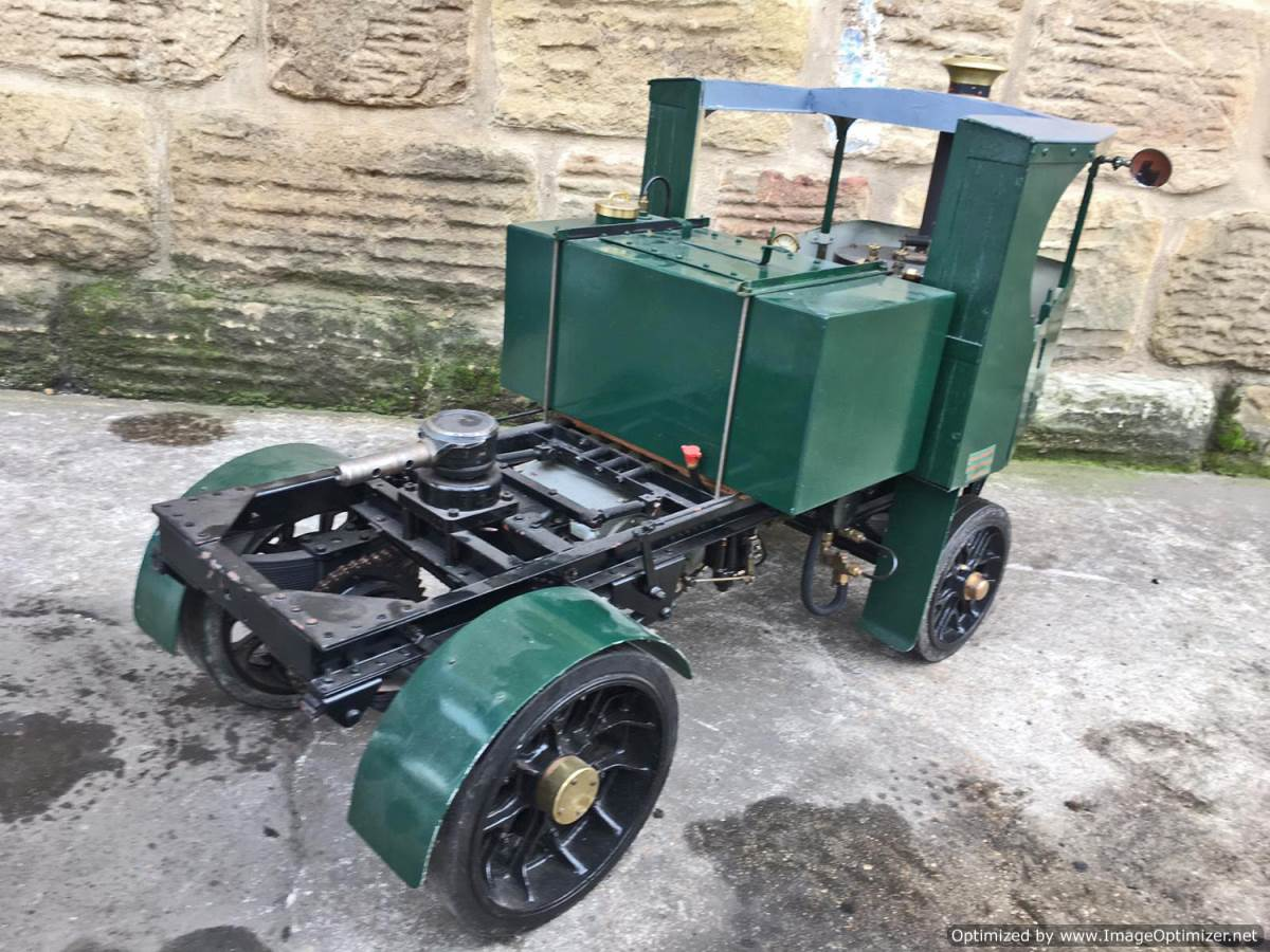 test 2 Inch Clayton Steam Lorry (24)