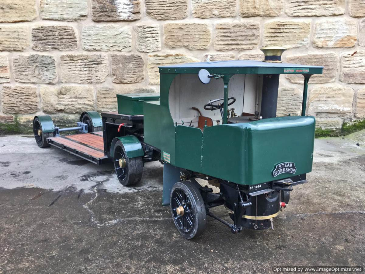 test 2 Inch Clayton Steam Lorry (27)