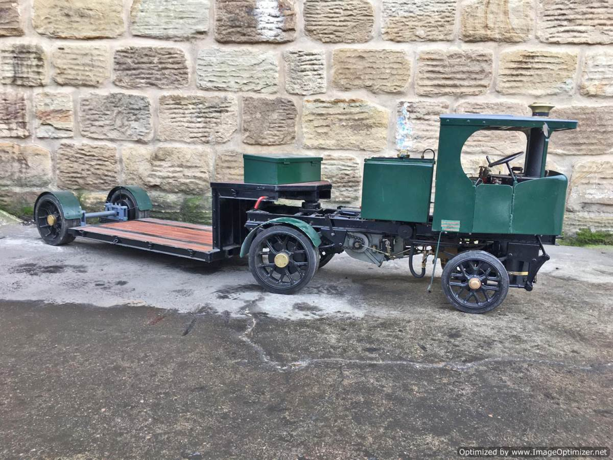 test 2 Inch Clayton Steam Lorry (28)