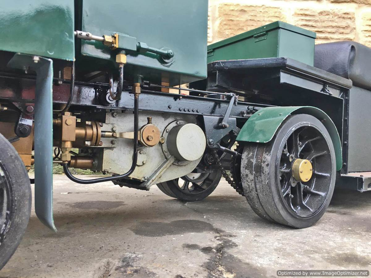 test 2 Inch Clayton Steam Lorry (3)