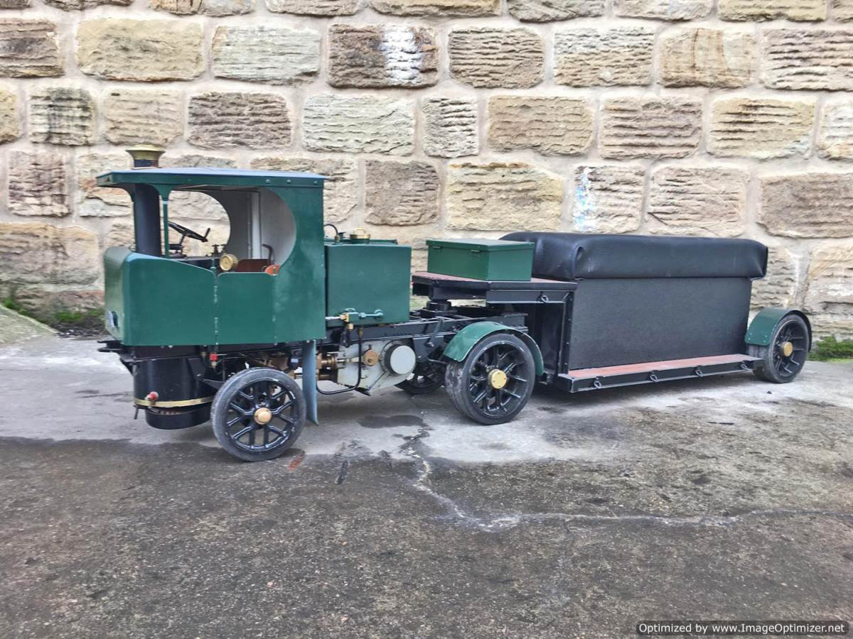 test 2 Inch Clayton Steam Lorry (4)