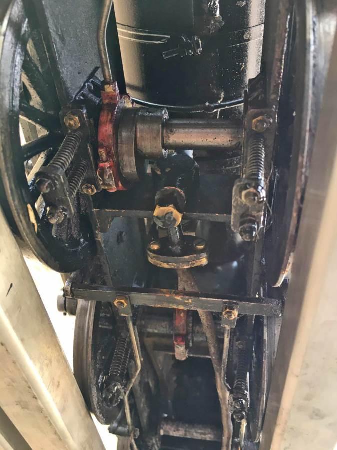 test 3 12 inch gauge LMS Black 5 Live Steam Locomotive for sale (10)