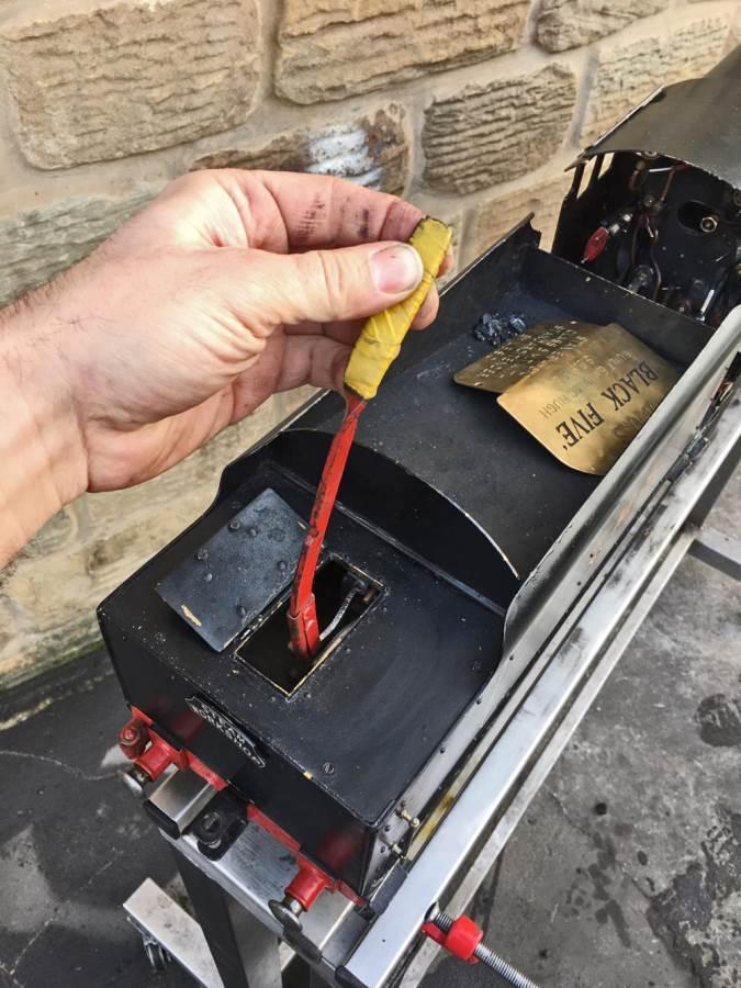 test 3 12 inch gauge LMS Black 5 Live Steam Locomotive for sale (11)
