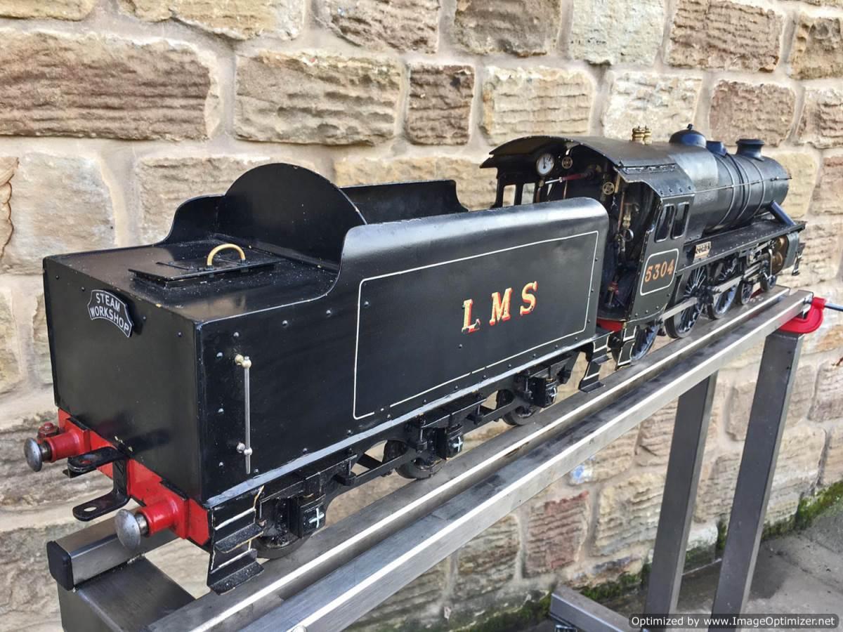 test 3 12 inch gauge LMS Black 5 Live Steam Locomotive for sale (12)